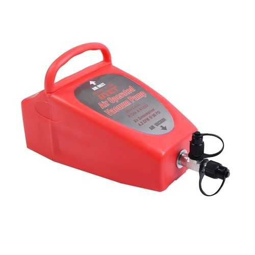 Air Conditioning System Tool Auto Operated Vacuum Pump  - Color: Red