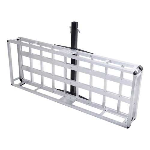Aluminum Hitch Carrier Truck Luggage Basket Rack