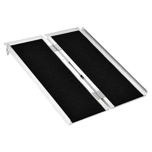 3' Portable Aluminum Non-skid Ramp