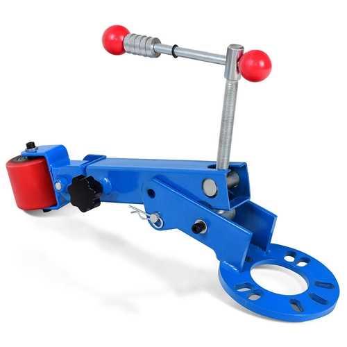 Heavy Duty Fender Roller Tool Extending Auto Body Wheel Arch Roller
