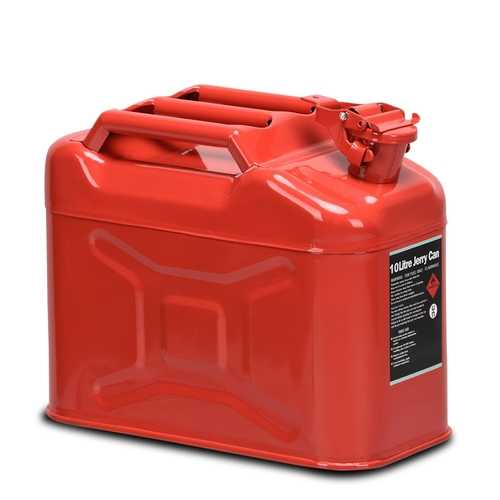 2.5 Gallon 10 L Jerry Fuel Can with Spout