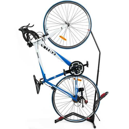 Vertical Horizontal Floor Rack Bike Stand