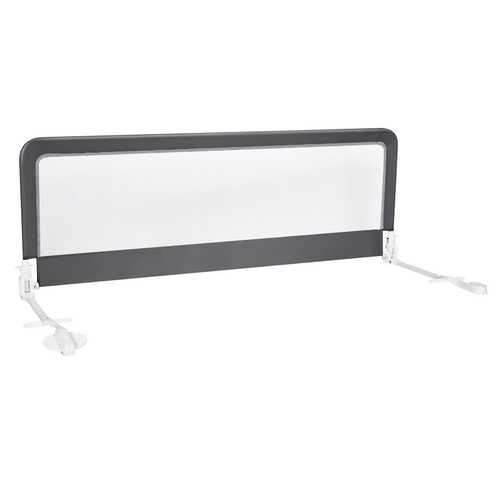 """59"""" Breathable Baby Children Toddlers Bed Rail Guard-Gray"""