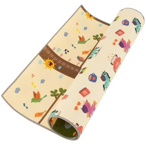 "67"" x 59"" Waterproof  Folding Baby  Floor Play Mat"