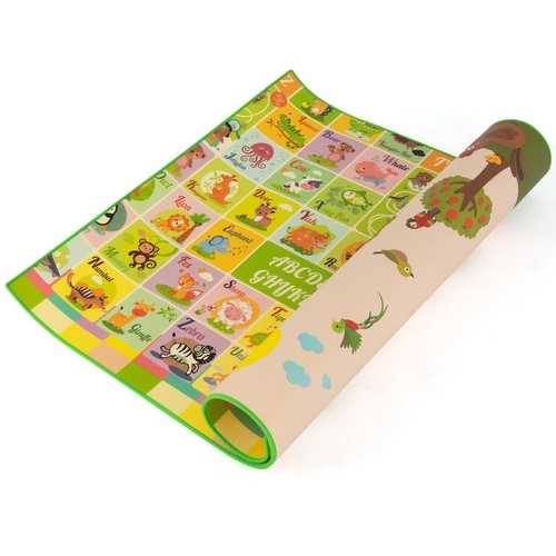 "79"" x 59"" Folding Waterproof Baby Reversible Floor Playmat"