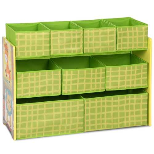 Kids Playroom Removable Bins Chest Organizer Boxes