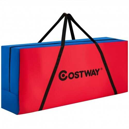 Giant 4 in a Row Connect Game Carry Storage Bag for Life Size Jumbo 4 to Score - Color: Black & Red