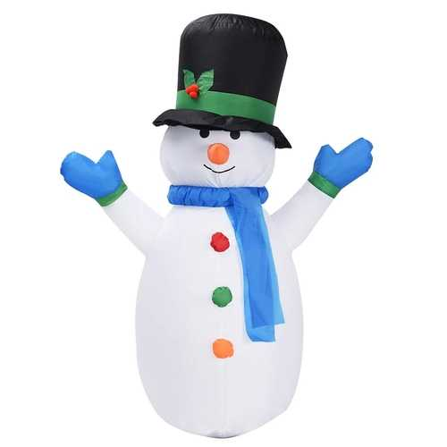 4 ft Airblown Inflatable Christmas Snowman Decoration