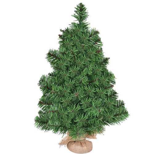 2' / 3' Holiday Season Decor Artificial PVC Christmas Tree