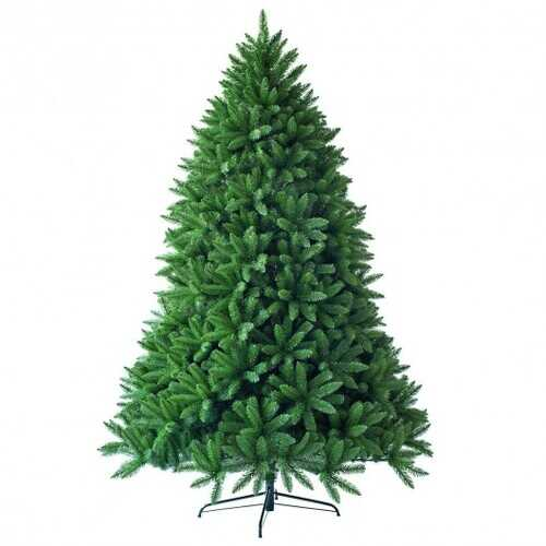 7.5 Ft Artificial Christmas Fir Tree with 1968 Branch Tips