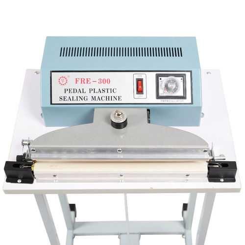 "110V 12"" Foot Pedal Impulse Sealer Heat Seal Machine"