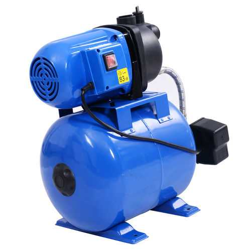 1200 W Garden Water Pump Shallow Well Pressurized Irrigation - Color: Blue