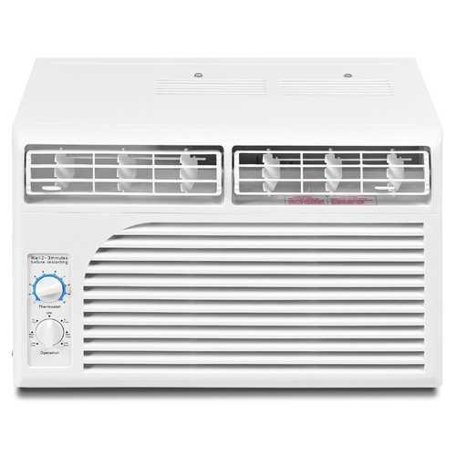 5000 BTU 115V Window-Mounted Air Conditioner w/ Mechanical Control