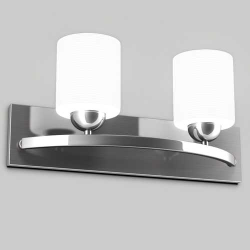 2 Light Glass Wall Pendant Lamp Fixture Vanity