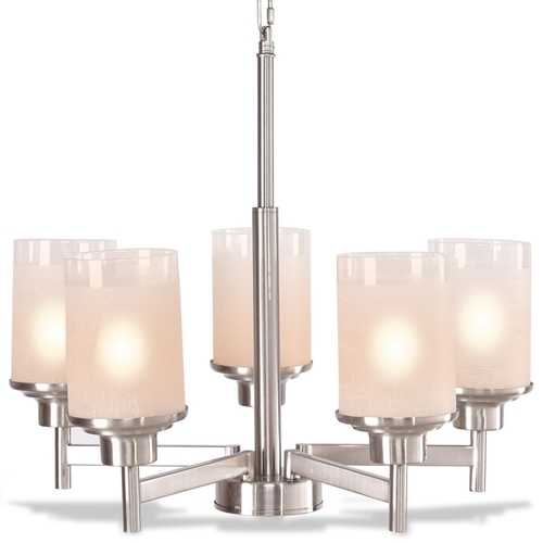 Elegant Modern Ceiling 5-Light Lighting Fixture Pendent Chandelier