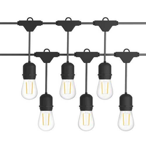 48 ft Outdoor Waterproof LED Light Bulbs