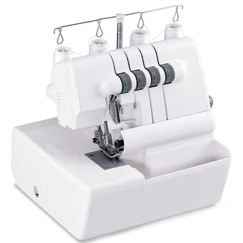 2 Needle Overlock Serger Sewing Machine w/ Differential Feed