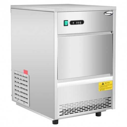 Automatic Ice Maker Machine w/ 70lbs/24h Productivity