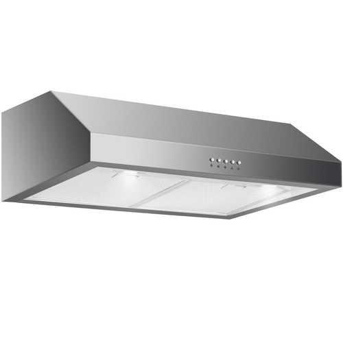 """204W 30"""" Under Cabinet Kitchen Range Hood"""