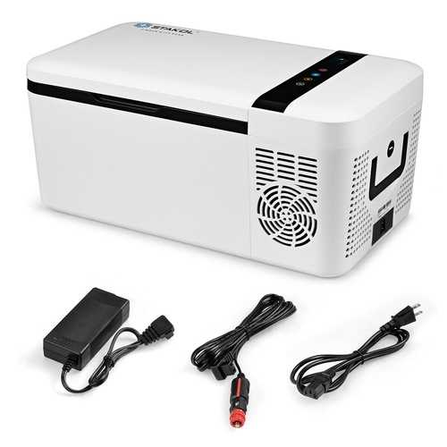 16 Quart Portable Car Compressor Camping Refrigerator