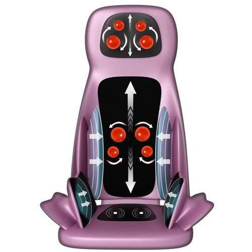 Shiatsu Massager Heating Seat Cushion Adjustable Air Compress