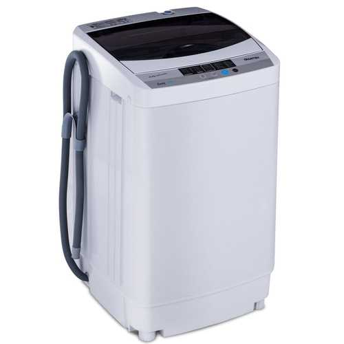 1.6 Cu.ft Portable Spin Compact Washing Machine