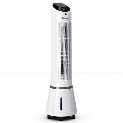 Portable Air Humidify Tower Fan with Remote Control