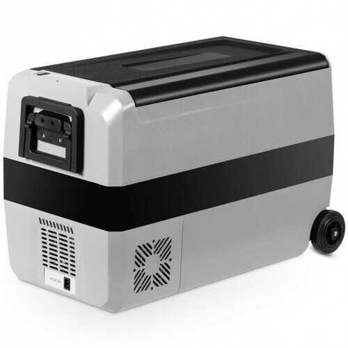 53 Quarts Portable Electric Car Cooler Refrigerator