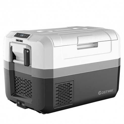 48 Quart Portable Electric Car Camping Cooler