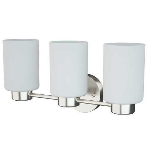 Modern 3-Light Glass Wall Lamp