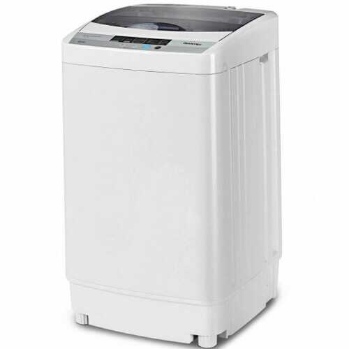 8 Water Level Portable Compact Washing Machine