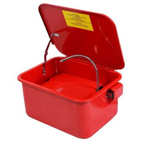 3-1/2 Gallon Electric Portable Parts Washer