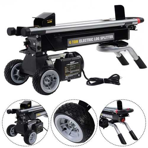 Portable Electric Hydraulic Log Splitter Cutter