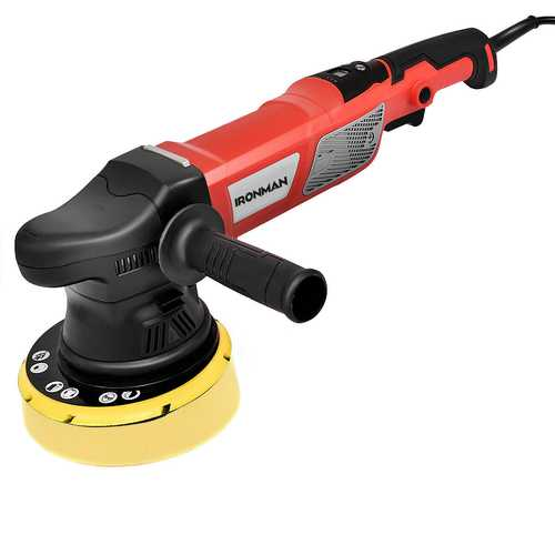 "6"" Variable Speed Dual Action Polisher Random Orbital Kit"