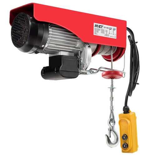 2200lbs Electric Remote Control Hoist Crane