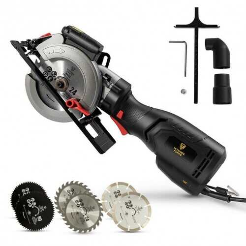 Mini Circular Saw with Laser Guide