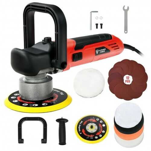 """6"""" Electric Dual Action Orbital Polisher Sander Kit with 6 Variable Speeds"""