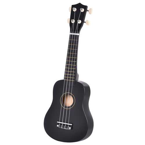 """21"""" 4-String Acoustic Ukulele Guitar"""