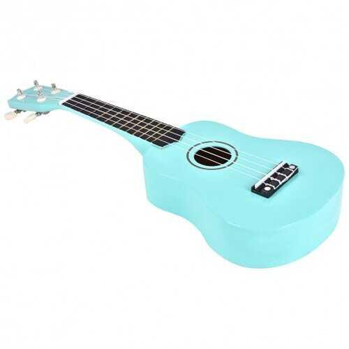 "21"" 4-String Acoustic Ukulele Musical Instrument-Green"