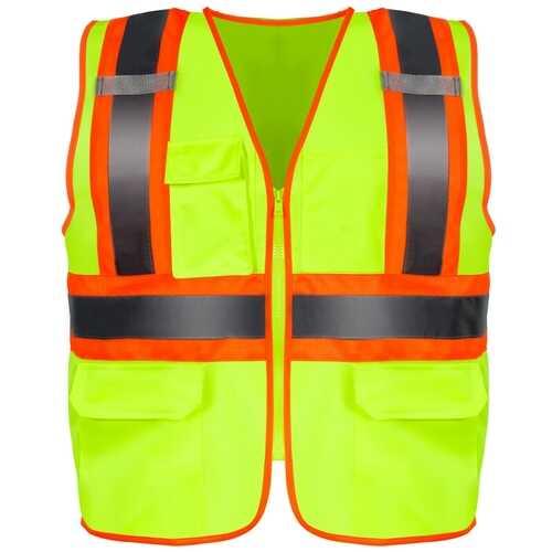 High Visibility Safety Vest w/ Pockets