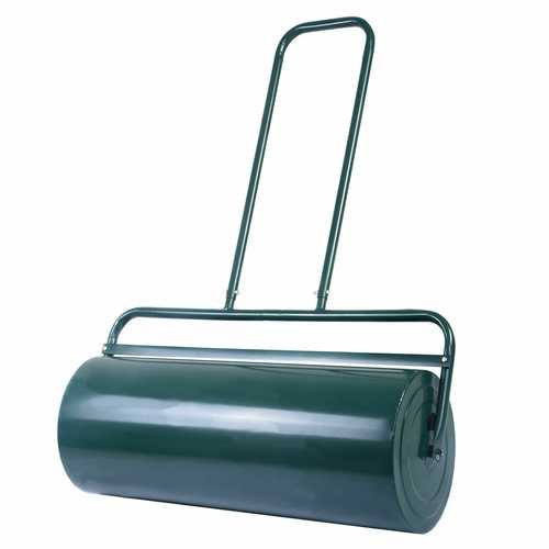 """24"""" x 13"""" Tow Lawn Roller Water Filled Metal Push Roller"""
