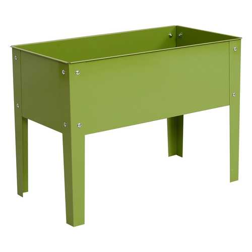 "24.5"" x12.5"" Outdoor Elevated Garden Plant Stand Flower Bed Box"