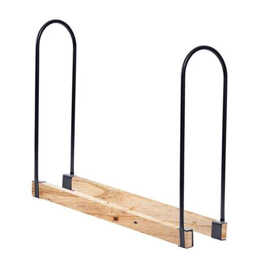 Length Adjustable Outdoor U-shape Firewood Log Rack