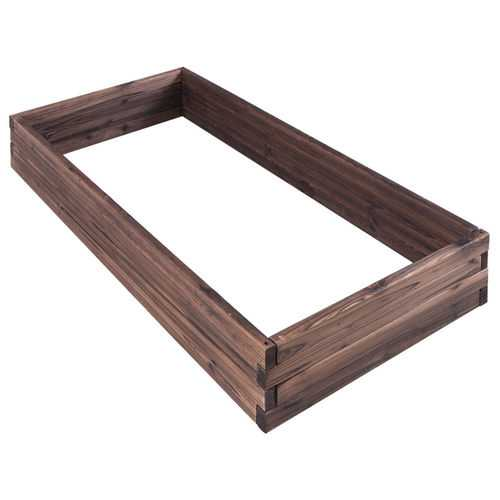 Elevated Wooden Garden Planter Box Bed Kit