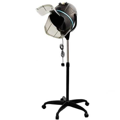 Salon Standing Hair Dryer Bonnet Rolling Heater