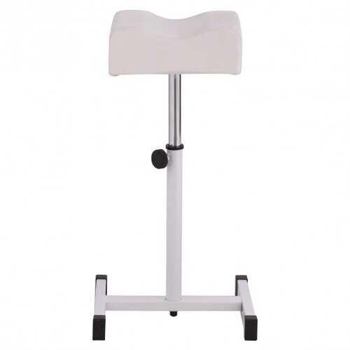 Adjustable Pedicure Manicure Technician Nail Footrest Salon Spa Equipment-White - Color: White