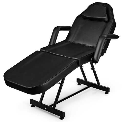 Adjustable Massage Facial Bed with Hydraulic Stool