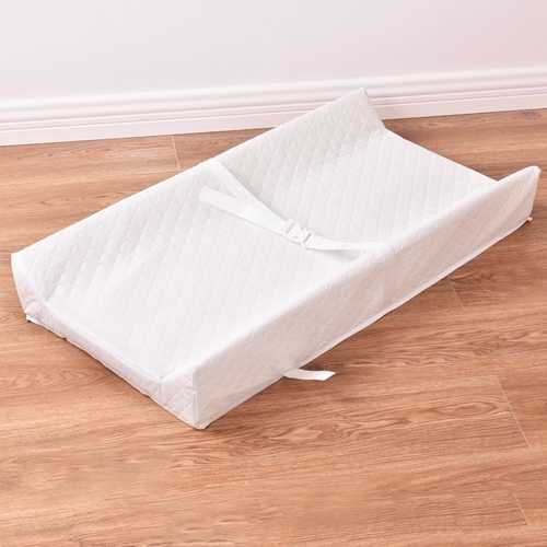 Baby Table Contoured Changing Pad Diaper Change Nursery Cushion