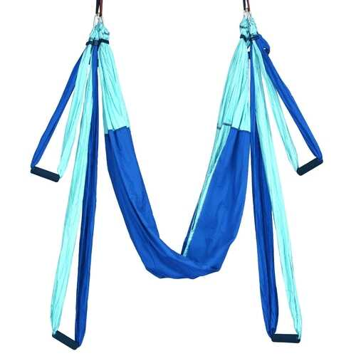 Swing Set Anti-Gravity Shaping Adjustable Yoga Belt-Blue