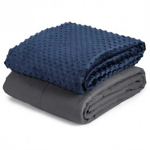 """5 lbs 36"""" x 48"""" Weighted Blanket with Glass Beads"""